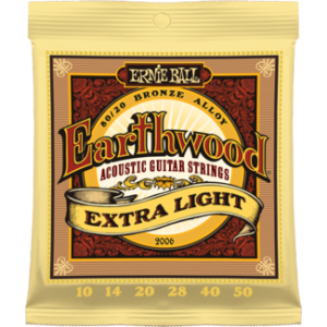 earth wood extra light 010-050