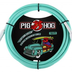 PCH10SG-seafoam-green-instrument-cable-10ft