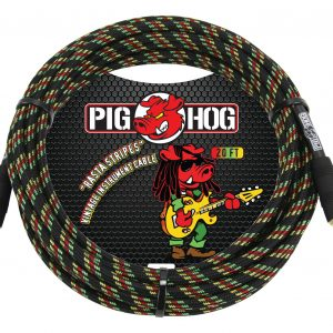PCH20RA-rasta-stripes-instrument-cable-20ft