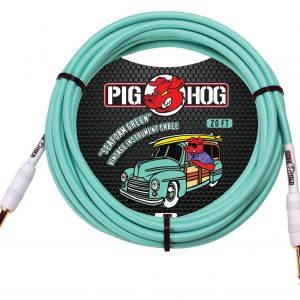 PCH20SG seafoam-green-instrument-cable-20ft